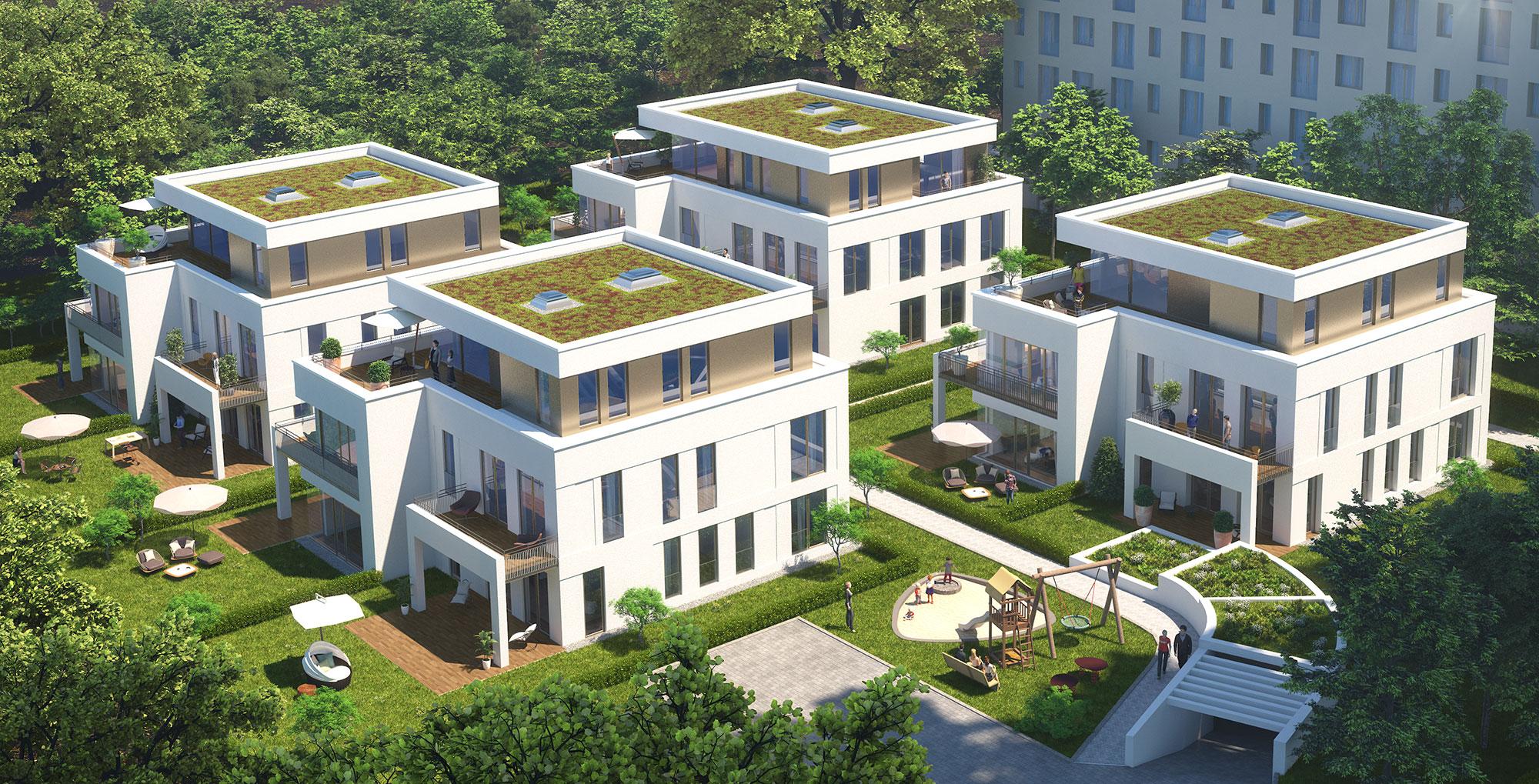 Garden Apartments Berlin - Wohnung kaufen in Berlin-Zehlendorf